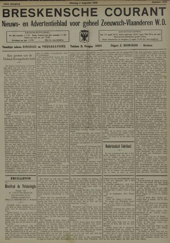 Breskensche Courant 1936-08-04