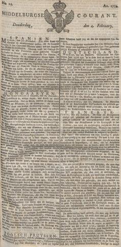 Middelburgsche Courant 1779-02-04