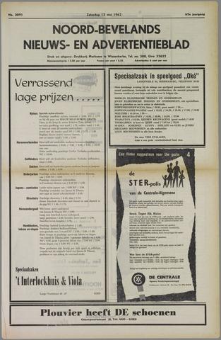 Noord-Bevelands Nieuws- en advertentieblad 1962-05-12