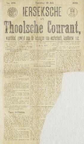 Ierseksche en Thoolsche Courant 1889-07-13