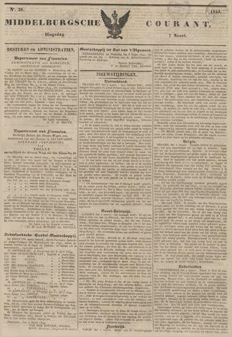 Middelburgsche Courant 1843-03-07