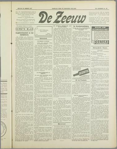De Zeeuw. Christelijk-historisch nieuwsblad voor Zeeland 1937-01-29