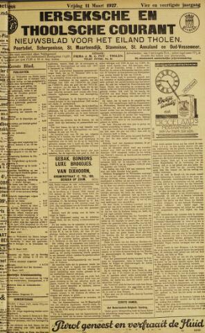 Ierseksche en Thoolsche Courant 1927-03-11