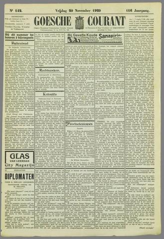 Goessche Courant 1929-11-29