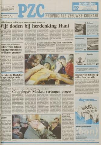 Provinciale Zeeuwse Courant 1993-04-15