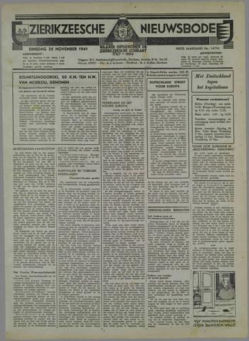 Zierikzeesche Nieuwsbode 1941-10-26