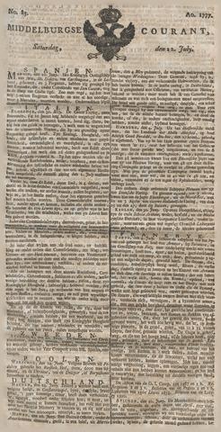 Middelburgsche Courant 1777-07-12