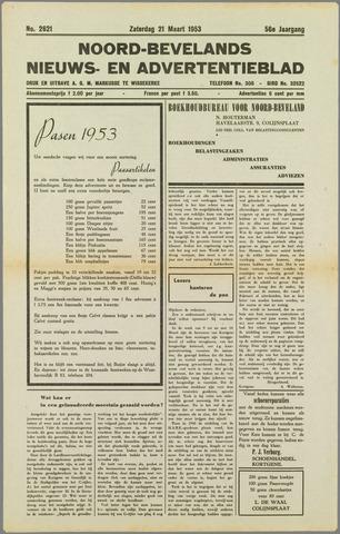 Noord-Bevelands Nieuws- en advertentieblad 1953-03-21