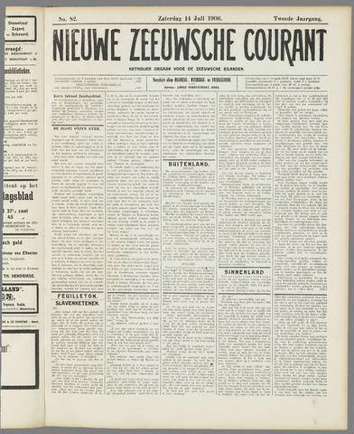 Nieuwe Zeeuwsche Courant 1906-07-14