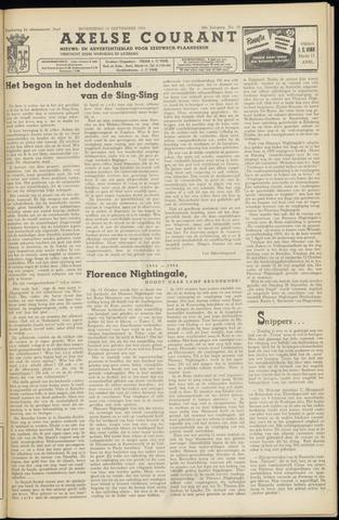 Axelsche Courant 1954-09-15