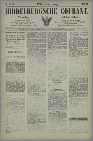 Middelburgsche Courant 1883-12-24