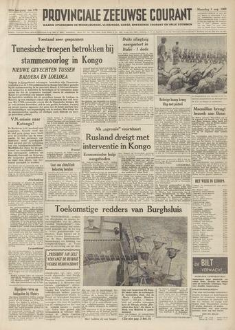 Provinciale Zeeuwse Courant 1960-08-01