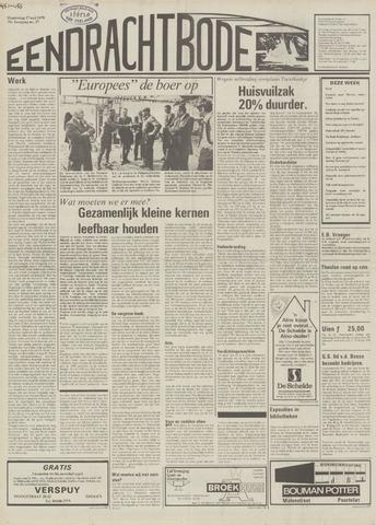 Eendrachtbode (1945-heden)/Mededeelingenblad voor het eiland Tholen (1944/45) 1979-05-17