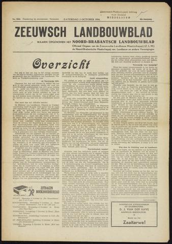 Zeeuwsch landbouwblad ... ZLM land- en tuinbouwblad 1954-10-02