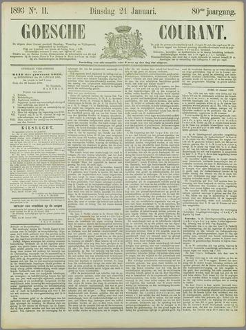 Goessche Courant 1893-01-24