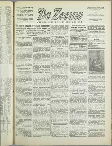 De Zeeuw. Christelijk-historisch nieuwsblad voor Zeeland 1940