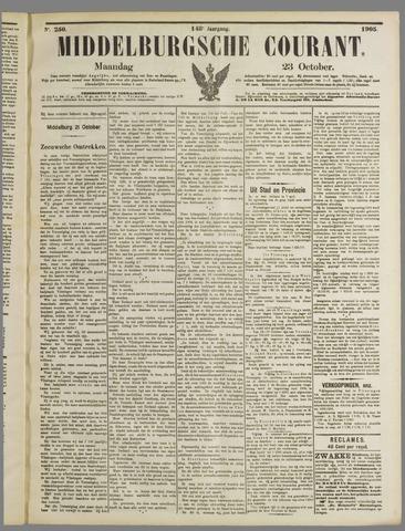 Middelburgsche Courant 1905-10-23