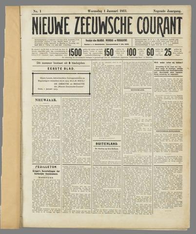 Nieuwe Zeeuwsche Courant 1913