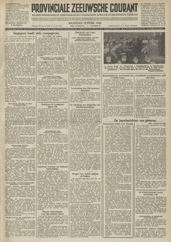 Provinciale Zeeuwse Courant 1942-02-16