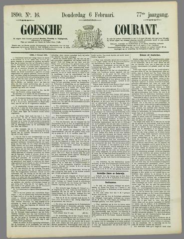 Goessche Courant 1890-02-06