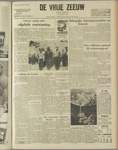 de Vrije Zeeuw 1961-04-21