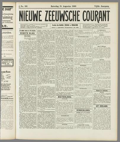 Nieuwe Zeeuwsche Courant 1909-08-28