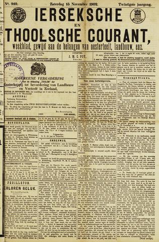 Ierseksche en Thoolsche Courant 1902-11-15