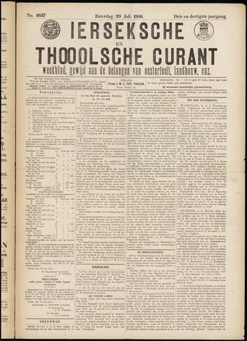 Ierseksche en Thoolsche Courant 1916-07-29