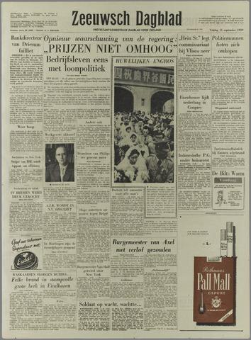 Zeeuwsch Dagblad 1959-09-11