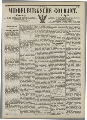 Middelburgsche Courant 1902-04-09