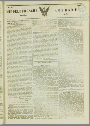 Middelburgsche Courant 1847-05-01