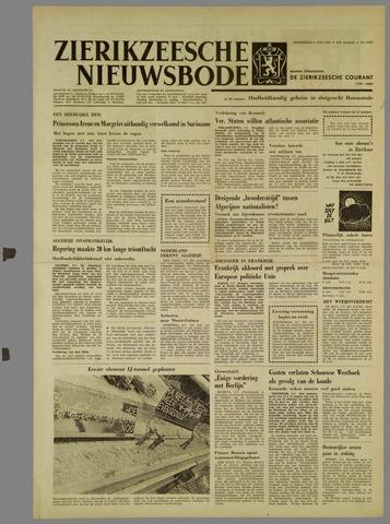 Zierikzeesche Nieuwsbode 1962-07-05