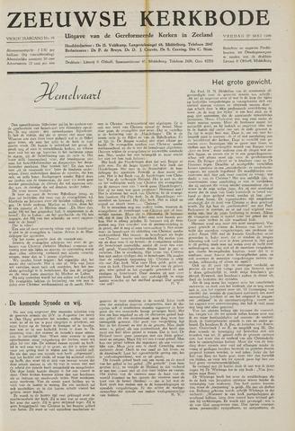 Zeeuwsche kerkbode, weekblad gewijd aan de belangen der gereformeerde kerken/ Zeeuwsch kerkblad 1949-05-27