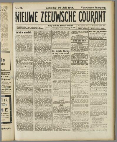 Nieuwe Zeeuwsche Courant 1918-07-20