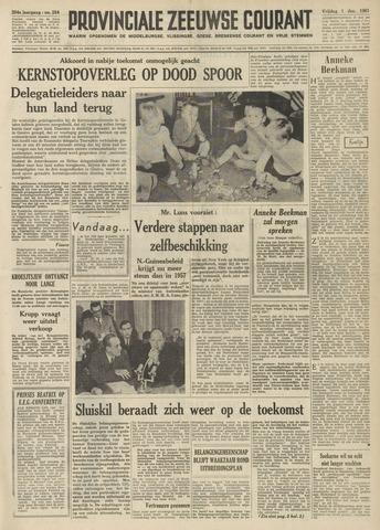 Provinciale Zeeuwse Courant 1961-12-01