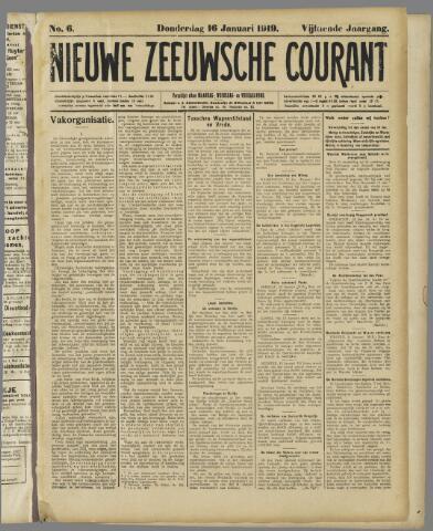 Nieuwe Zeeuwsche Courant 1919-01-16