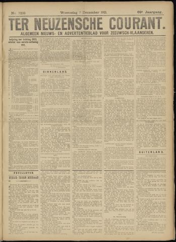 Ter Neuzensche Courant. Algemeen Nieuws- en Advertentieblad voor Zeeuwsch-Vlaanderen / Neuzensche Courant ... (idem) / (Algemeen) nieuws en advertentieblad voor Zeeuwsch-Vlaanderen 1921-12-07