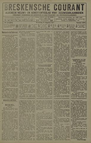 Breskensche Courant 1927-08-31