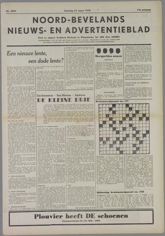 Noord-Bevelands Nieuws- en advertentieblad 1970-03-21