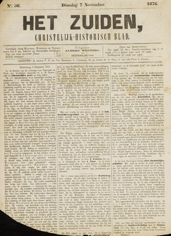 Het Zuiden, Christelijk-historisch blad 1876-11-07
