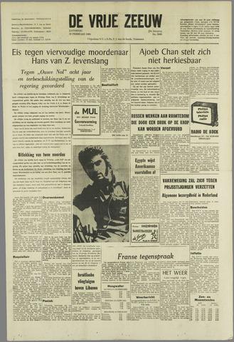 de Vrije Zeeuw 1969-02-22