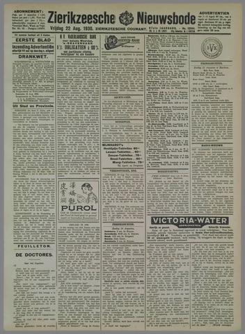 Zierikzeesche Nieuwsbode 1930-08-22