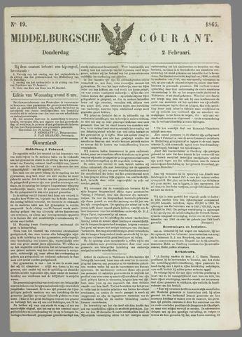 Middelburgsche Courant 1865-02-02