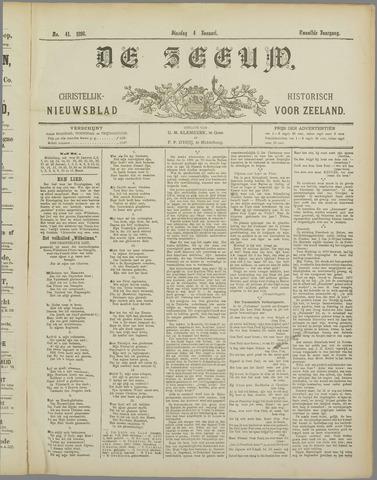 De Zeeuw. Christelijk-historisch nieuwsblad voor Zeeland 1898-01-04
