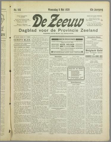 De Zeeuw. Christelijk-historisch nieuwsblad voor Zeeland 1929-05-08