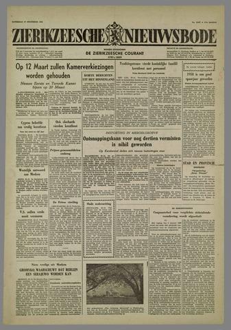 Zierikzeesche Nieuwsbode 1958-12-27