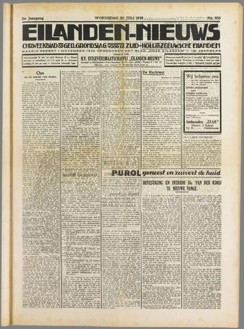 Eilanden-nieuws. Christelijk streekblad op gereformeerde grondslag 1938-07-20