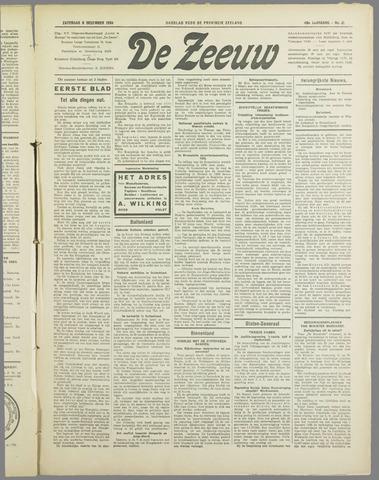 De Zeeuw. Christelijk-historisch nieuwsblad voor Zeeland 1934-12-08