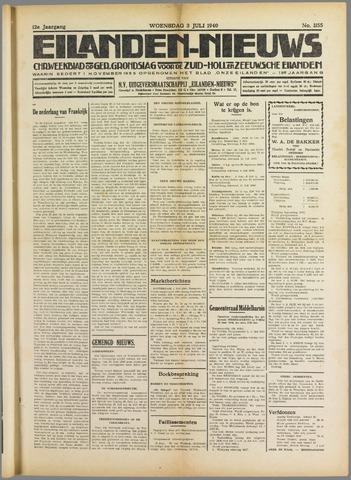 Eilanden-nieuws. Christelijk streekblad op gereformeerde grondslag 1940-07-03