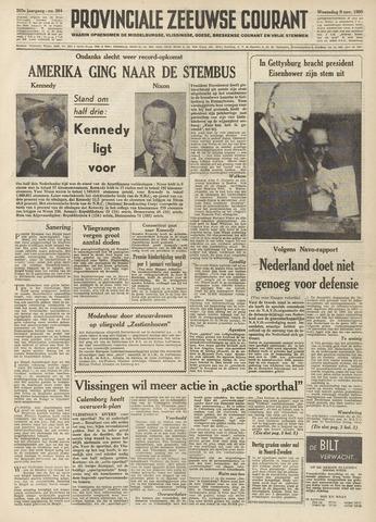 Provinciale Zeeuwse Courant 1960-11-09